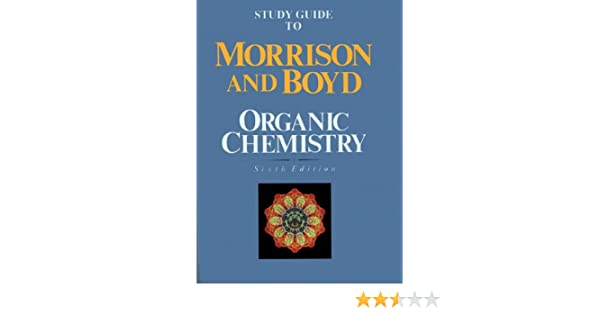 Morrison And Boyd Organic Chemistry Solutions Pdf