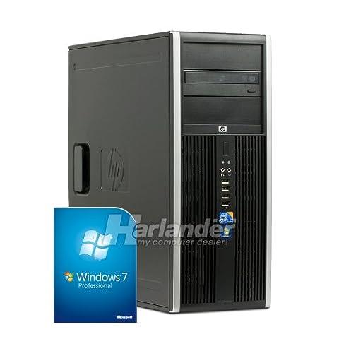 HP Compaq 8000Elite CMT Business PC (Intel Core 2Duo 3Ghz, 4Go de RAM, disque dur 250Go, GMA 4500, DVD, Win 7)