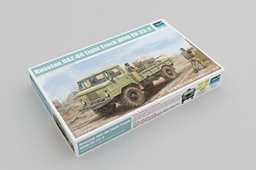 Trumpeter 01017 - Modélisme Jeu de Russian gaz 66 Light Truck II