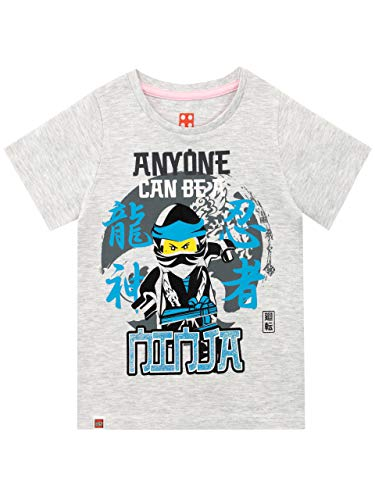 LEGO Mädchen Ninjago T-Shirt Grau 122