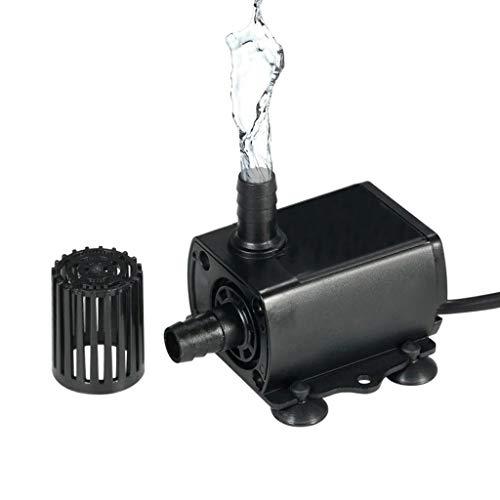 Hochwertige Dc5V Usb Wasserpumpe, Brunnenwasserpumpe Brushless Wasserpumpe, Kunststoff Abnehmbare Design, Für Aquarium Brunnen Autokühlung Computer Wasserkühlung Zirkulationssysteme (schwarz)