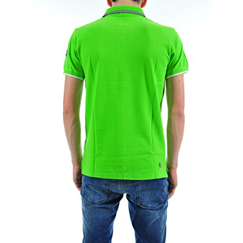 Colmar Klassisches Polo-Shirt Blau - Blau Vert fluo