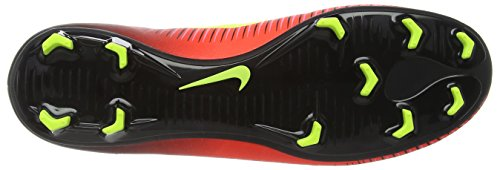 Nike Mercurial Victory Vi, Chaussures de Football Compétition Homme Rouge (Total Crimson/black/pink Blast/volt)