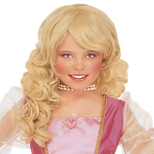 PARTY DISCOUNT® Kinder-Perücke Prinzessin, blond