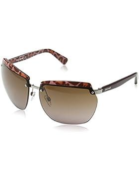 Just Cavalli - Gafas de sol Pantalla JC503S, Tortoise Effect Havana Frame / Light Brown Gradient