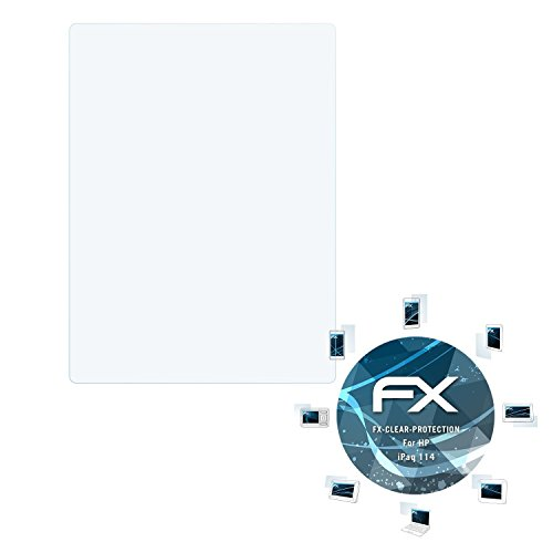 atFoliX Schutzfolie kompatibel mit HP iPaq 114 Folie, ultraklare FX Displayschutzfolie (3X) -