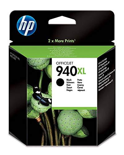 HP 940XL Schwarz Original Druckerpatrone mit hoher Reichweite für HP Officejet Pro 8500, 8500A, 8000