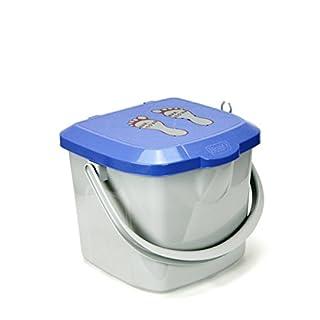 Eimer 15,5 L Windeleimer Hocker Spielzeugbox mit Deckel Spielzeug 130 kg