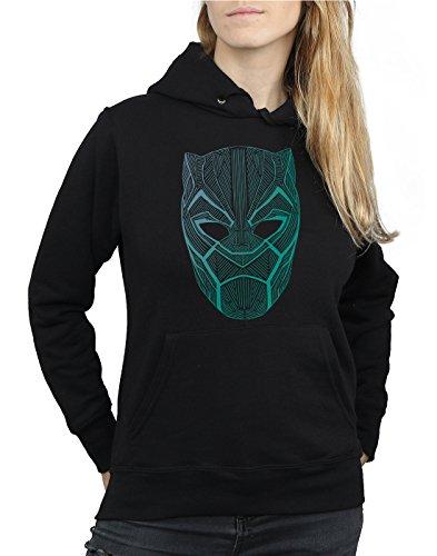 Marvel Femme Black Panther Tribal Mask Sweat À Capuche Noir