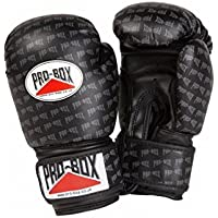 Pro Box–Guantes de Boxeo de Sparring Base Spar–Color Negro