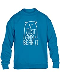 Flox Creative Children's Sweater Just Grin and Bear It