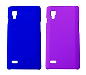 2 Pieces Winsome Deal Exclusive Hard Back Cover Case for LG L9 P760
