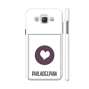 Colorpur Samsung J2 (Old) Cover - I Love Philadelphia Printed Back Case