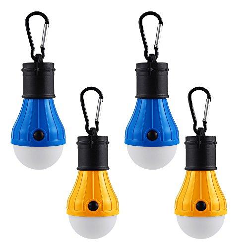 Licht & Beleuchtung Tragbare Laternen FleißIg Neue Außen Hängenden 3 Led Camping Zelt Glühbirne Angeln Laterne Lampe Blau