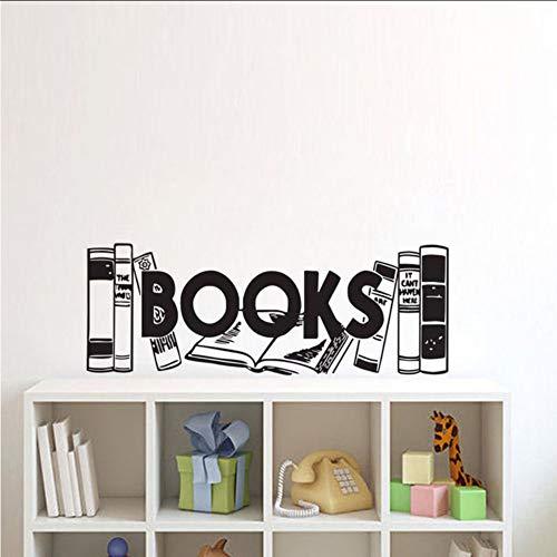 ponana libri adesivi murali oggettistica per la casa soggiorno camera per bambini stickers murali stickersmurali invinile30x80cm