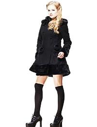 Ligne bunny cOAT manteau sARAH jANE (noir)