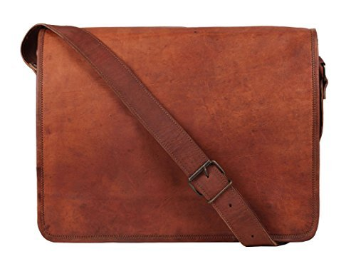 - 41Vhqv iZ9L - Rustic Town Leather Vintage Crossbody Messenger Courier Bag Gift Men Women Business Work Carry Laptop Computer Books Handmade Rugged & Distressed ~ Everyday Office College School 15 Inch  - 41Vhqv iZ9L - Deal Bags