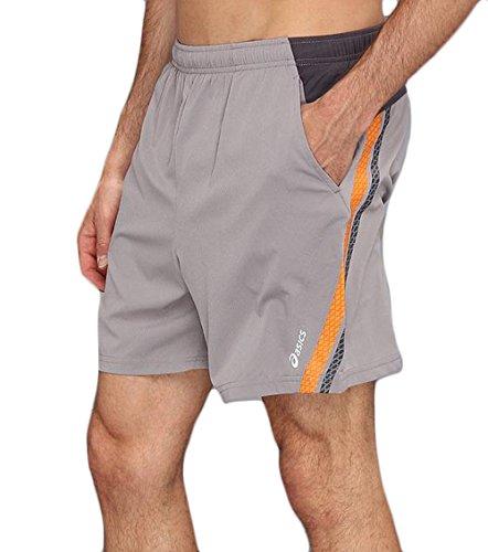 Asics Herren Athletic 2in 1Shorts XXL grau (Shorts Athletic Asics)