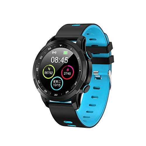 Hunpta@ Smartwatch mit Schrittzähler, für Herren, Kinder, Smartwatch, V09 Smartwatch, wasserdicht, IP68