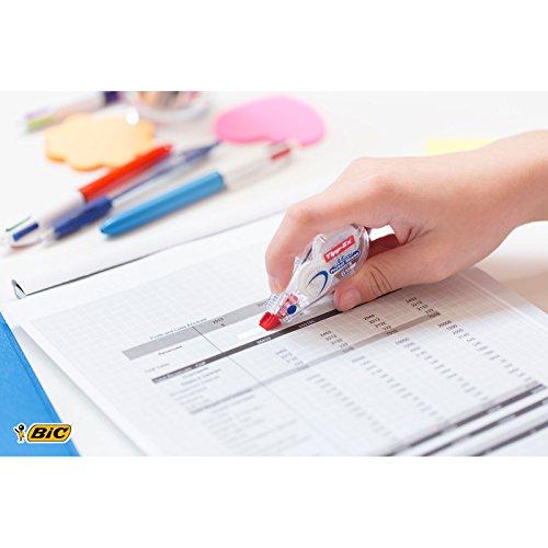 Tipp-Ex Mini Pocket Mouse Korrekturroller – Korrekturband 6 m x 5 mm – Blister à 2 Stück, weiß - 6