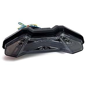 Feu arrière à LEDS YAMAHA MT09 2014 Fumé (avec clignotants)