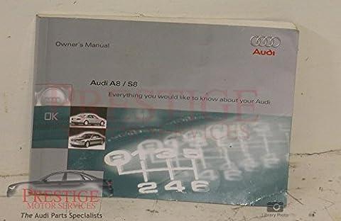 Audi A8 D2 PF Handbook 07/96 to end 98