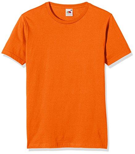 Fruit of the Loom Herren T-Shirt Orange