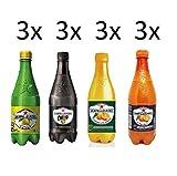San pellegrino testpaket 12 x 50 cl Flasche PET zitrone chinò orange