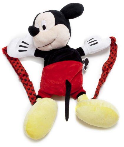 Disney 1100730 - Topolino Zainetto in Peluche, 19x30x38 cm