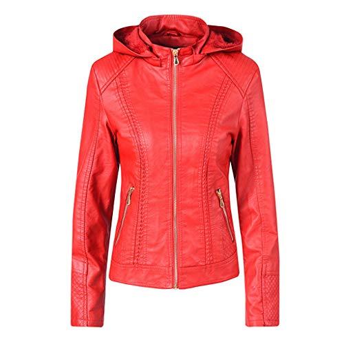 Moderne Homme Kostüm - TOPSELD Frauen-beiläufige Hoodie dünner Reißverschluss Langarm-Taschen-Jacke Warmer Mantel