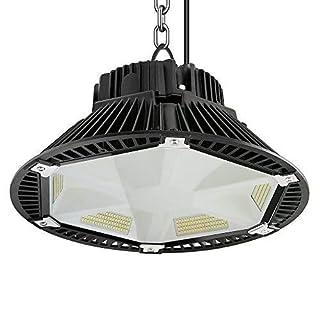 Anten LED Industrielampe PET-Reflektionsdesign LED Hallenstrahler 150W Kaltweiß(5500-6500) 19500LM; SMD 2835;Schutzart IP65, 120°Abstrahlwinkel (Schwarz)