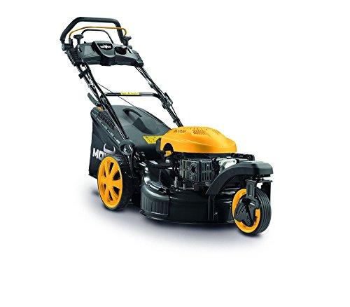 Mowox PM 5160 SE Trike, 3-rädriger selbstfahrender Benzinrasenmäher mit E-start, min. 2,9 kW/2800 rpm, 51 cm, 60l Grasfangsack, kugelgelagerte Räder