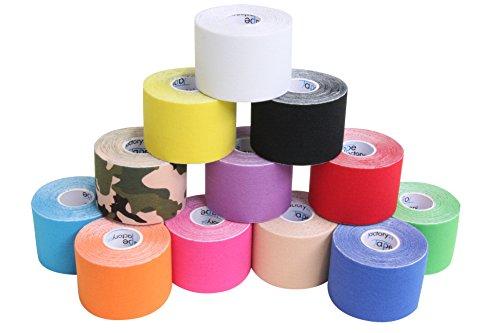 5 Rollen Kinesio® TexClassic Tape Dr. Kenzo Kase oder 5 Rollen Kinesiologie Tape von IamSporty (5x Kinesiologie Tape - FREIE FARBWAHL)