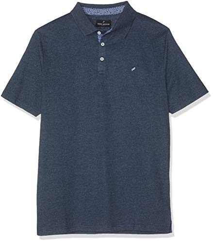 Daniel Hechter Herren Polo Poloshirt, Blau (Navy 690), Large (Herstellergröße: L)