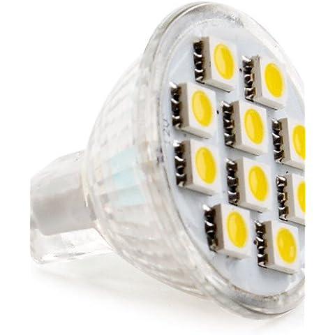TJDlight G9-2D 2W 90LM 3200K bianco caldo LED lampadina luce(DC 12V)