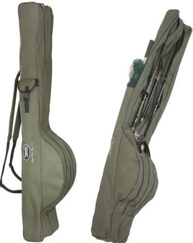 ROD BAG TEAM - Komfort Rutentaschen - Länge: 1,45m 2 Rutenkammern
