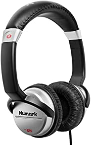 Numark HF125 | Ultra-Portable Professional DJ Headphones With 6ft Cable, 40mm Drivers for Extended Response &a
