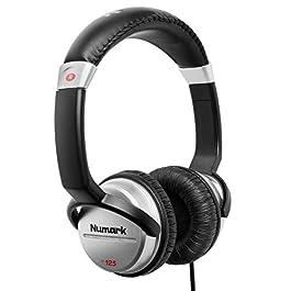 Numark HF125 – Cuffie Portatili per DJ con Cavo da 1,80 m, Driver da 40 mm per Risposta in Frequenza Estesa e Padiglione…