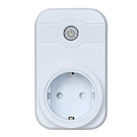 Gosear WiFi Timer Stecker Remote Control Steckdosen Programmierbare Elektrische Steckdose Schalter Intelligente Steckdose Kontrollierte Multi-Modi Home-Automation für Andriod2.3 Apple IOS8.0 über