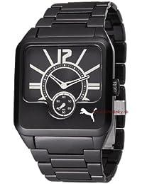 3a3cb4f0b Puma Time - Reloj analógico de cuarzo para hombre con correa de acero  inoxidable