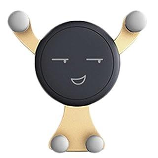 wergem Neuwagen Handy Stand Schwerkraft Stand Mini Netter Karikatur Telefon Halter Halterungen