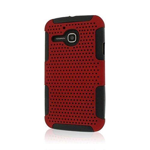 MPERO Fusion M Series Schutz Case Tasche Hülle for Alcatel ONETOUCH Evolve 5020T - Red