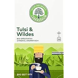 Lebensbaum Bio Kräuterteemischung Tulsi und Wildes, 40 g