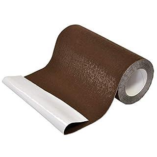 ALU-TOP 5 Meter Rolle Kaminanschlussband Wandanschluss Farbe Braun