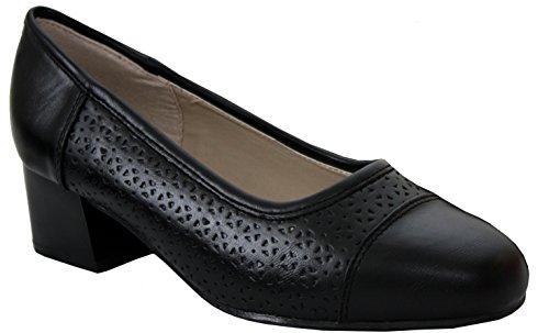 Comfort PlusMatilda - Scarpe con Tacco da ragazza' donna Black