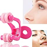 AGE CARE Fashion Nose Up Shaping Shaper Lifting Bridge Straightening Face Fitness Slimmer Facial Beauty Nose Clip.1pc(Pink) Amazon