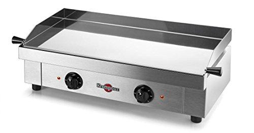 Krampouz GECIF2AO barbecue électrique en Acier inoxydable-(3200W, Grille, électrique, planche, Acier inoxydable)