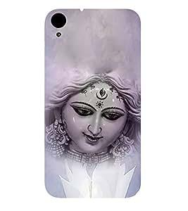 Maa Durga 3D Hard Polycarbonate Designer Back Case Cover for HTC Desire 830 :: HTC Desire 830 Dual Sim