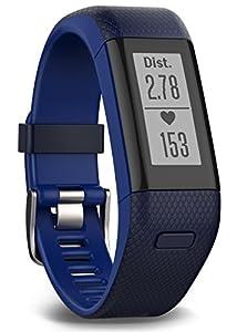 Garmin GPS-activity Tracker vivosmart mit HR WW Blue, M - L, 010-01955-32