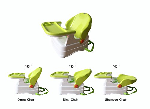 Bey Bee - Booster Chair For Babies / Toddlers Feeding Chair With Tray- 2-in-1 (Blue)